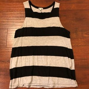 GAP Women's Striped Tank (size L)